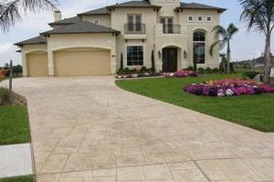 Concrete Driveway Landscaping