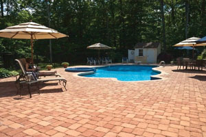 Interlocking Stone for Patios and Pool Decks
