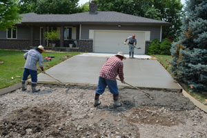 Residential & Commercial Concrete Garage Pads
